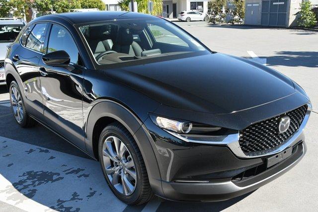 New Mazda CX-30 DM2W7A G20 SKYACTIV-Drive Touring Wollongong, 2021 Mazda CX-30 DM2W7A G20 SKYACTIV-Drive Touring Jet Black 6 Speed Sports Automatic Wagon