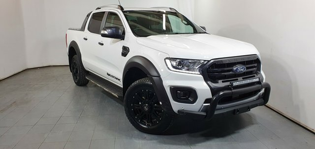 Used Ford Ranger PX MkIII 2019.75MY Wildtrak Elizabeth, 2019 Ford Ranger PX MkIII 2019.75MY Wildtrak White 10 Speed Sports Automatic Double Cab Pick Up