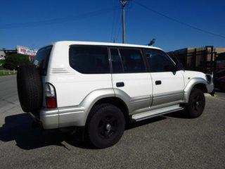 2000 Toyota Landcruiser Prado VZJ95R GXL (4x4) White 4 Speed Automatic 4x4 Wagon.