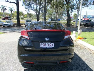 2013 Honda Civic 9th Gen MY13 VTi-S Black 5 Speed Sports Automatic Hatchback