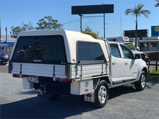 2013 Holden Colorado RG LX White 5 Speed Manual Cab Chassis