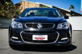 2017 Holden Ute VF II MY17 SV6 Ute Black 6 Speed Sports Automatic Utility.