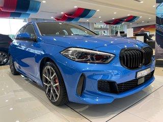 2021 BMW 1 Series F40 128ti Steptronic Misano Blue Metallic 8 Speed Sports Automatic Hatchback.