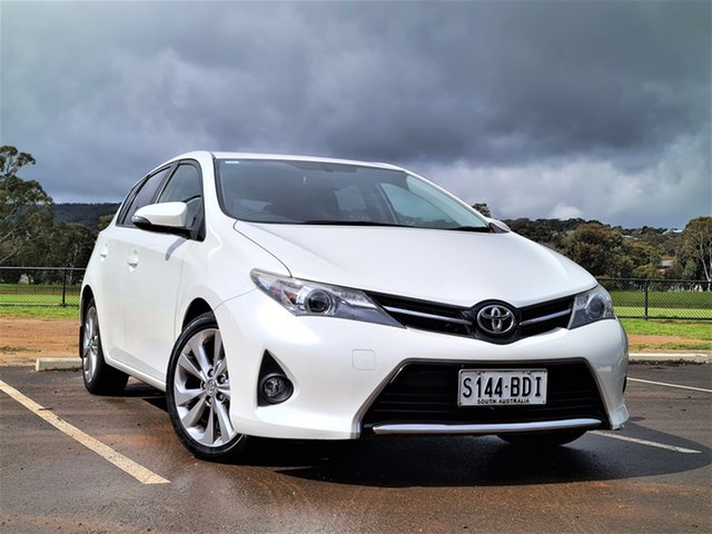 Used Toyota Corolla ZRE182R Levin S-CVT SX St Marys, 2014 Toyota Corolla ZRE182R Levin S-CVT SX White 7 Speed Constant Variable Hatchback