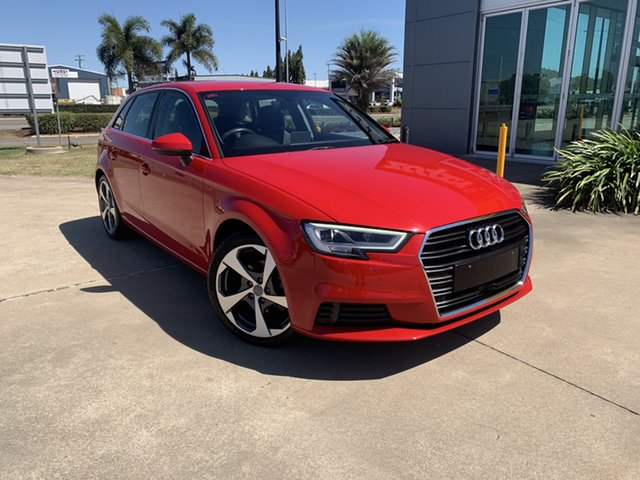 Used Audi A3 8V MY16 Attraction Sportback S Tronic Townsville, 2016 Audi A3 8V MY16 Attraction Sportback S Tronic Red 7 Speed Sports Automatic Dual Clutch