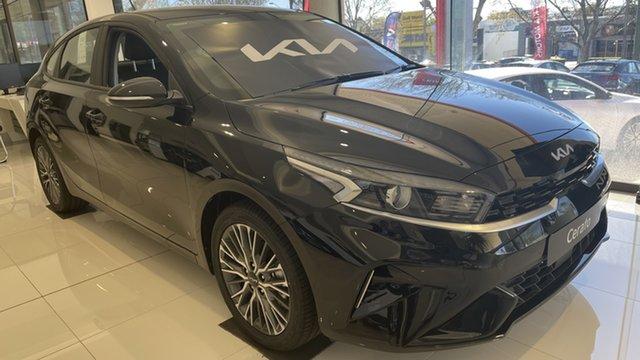 New Kia Cerato BD MY22 Sport+ Toowoomba, 2021 Kia Cerato BD MY22 Sport+ Aurora Black 6 Speed Sports Automatic Hatchback