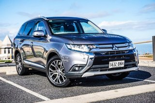 2016 Mitsubishi Outlander ZK MY17 LS 4WD Grey 6 Speed Constant Variable Wagon.