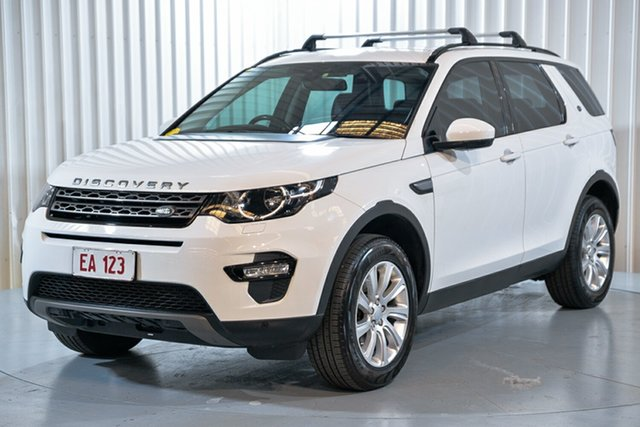 Used Land Rover Discovery Sport L550 16.5MY SE Hendra, 2015 Land Rover Discovery Sport L550 16.5MY SE White 9 Speed Sports Automatic Wagon