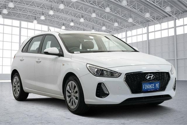 Used Hyundai i30 PD MY19 Go Victoria Park, 2019 Hyundai i30 PD MY19 Go Polar White 6 Speed Sports Automatic Hatchback