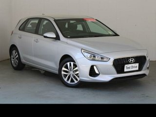 2018 Hyundai i30 PD2 MY19 Active Silver 6 Speed Automatic Hatchback