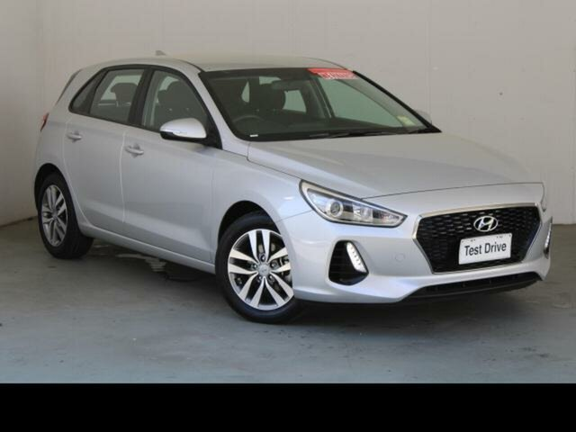 Used Hyundai i30 PD2 MY19 Active Belconnen, 2018 Hyundai i30 PD2 MY19 Active Silver 6 Speed Automatic Hatchback