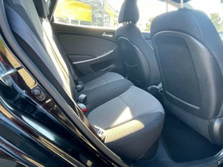 2013 Hyundai Accent RB Active Black 5 Speed Manual Hatchback