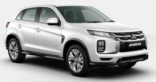 2021 Mitsubishi ASX XD MY21 ES 2WD White 1 Speed Constant Variable Wagon
