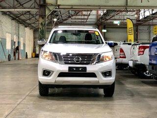 2016 Nissan Navara D23 RX 4x2 White 6 Speed Manual Cab Chassis.