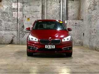 2015 BMW 2 Series F45 218d Active Tourer Steptronic Luxury Line Red 8 Speed Automatic Hatchback.