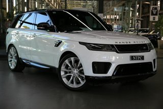 2019 Land Rover Range Rover Sport L494 19.5MY HSE White 8 Speed Sports Automatic Wagon.