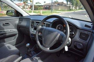 2009 Kia Rio JB MY09 LX Orange 5 Speed Manual Hatchback