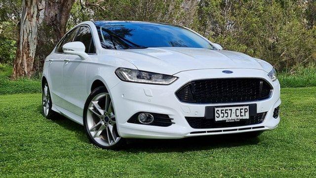 Used Ford Mondeo MD 2018.25MY Titanium Nuriootpa, 2018 Ford Mondeo MD 2018.25MY Titanium White 6 Speed Sports Automatic Dual Clutch Hatchback