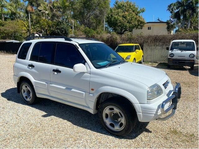 Used Suzuki Vitara V6 (4x4) Arundel, 1998 Suzuki Vitara V6 (4x4) White 4 Speed Automatic 4x4 Wagon