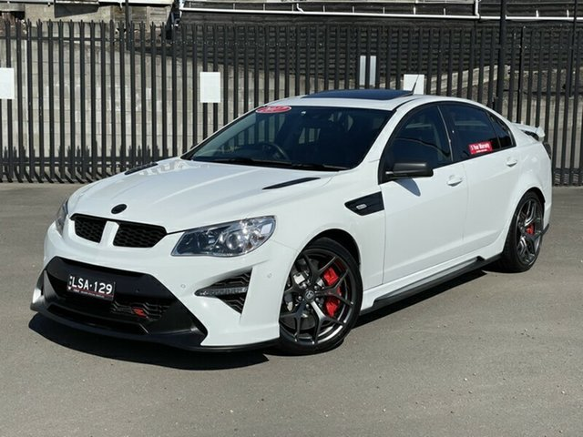 Used Holden Special Vehicles GTS Gen-F2 MY17 R Newcastle, 2017 Holden Special Vehicles GTS Gen-F2 MY17 R White 6 Speed Sports Automatic Sedan