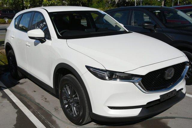 New Mazda CX-5 KF4WLA Maxx SKYACTIV-Drive i-ACTIV AWD Sport Wollongong, 2021 Mazda CX-5 KF4WLA Maxx SKYACTIV-Drive i-ACTIV AWD Sport Snowflake White Pearl 6 Speed