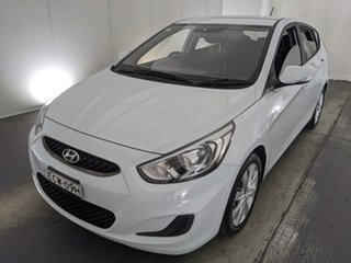 2019 Hyundai Accent RB6 MY19 Sport White 6 Speed Sports Automatic Hatchback.
