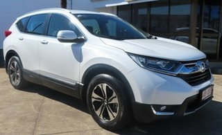 2017 Honda CR-V MY18 VTi (2WD) White 5 Speed Continuous Variable Wagon.