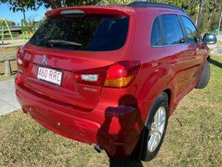 2011 Mitsubishi ASX XA MY11 Aspire Red 6 Speed Constant Variable Wagon
