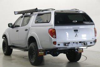 2015 Mitsubishi Triton MN MY15 GLX Double Cab Silver 5 Speed Manual Utility.