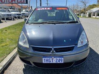 2007 Mitsubishi Colt RG MY06 Upgrade LS Grey Continuous Variable Hatchback.