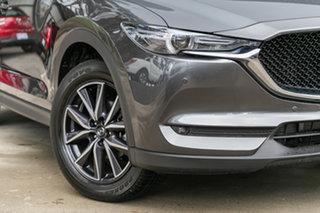 2021 Mazda CX-5 KF4WLA GT SKYACTIV-Drive i-ACTIV AWD Machine Grey 6 Speed Sports Automatic Wagon.