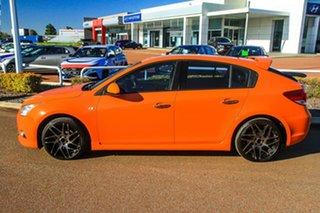 2013 Holden Cruze JH Series II MY14 SRi-V Orange 6 Speed Manual Hatchback.