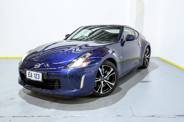 Used Nissan 370Z Z34 MY17 Canning Vale, 2018 Nissan 370Z Z34 MY17 Blue 7 Speed Automatic Coupe