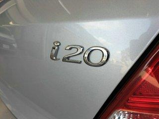 2014 Hyundai i20 PB MY14 Active Silver 4 Speed Automatic Hatchback
