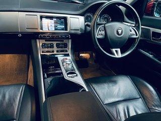 2014 Jaguar XF X250 MY15 Premium Luxury Red 8 Speed Sports Automatic Sedan.