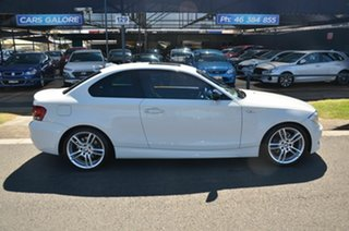 2013 BMW 120i E82 MY13 Update White 6 Speed Automatic Coupe.