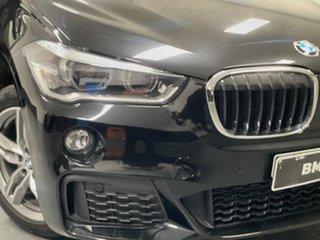 2017 BMW X1 F48 sDrive20i Steptronic Black 8 Speed Sports Automatic Wagon.