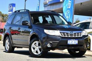 2011 Subaru Forester S3 MY11 X AWD Dark Grey 4 Speed Sports Automatic Wagon.