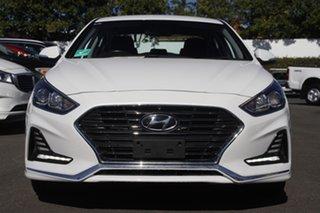 2019 Hyundai Sonata LF4 MY19 Active White 6 Speed Sports Automatic Sedan.