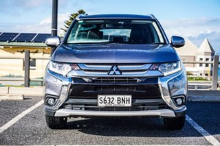 2016 Mitsubishi Outlander ZK MY17 LS 4WD Grey 6 Speed Constant Variable Wagon