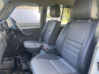 2010 Toyota Landcruiser VDJ76R MY10 Workmate White 5 Speed Manual Wagon