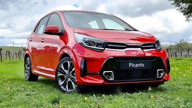 New Kia Picanto JA MY22 GT-Line Nuriootpa, 2021 Kia Picanto JA MY22 GT-Line Signal Red 4 Speed Automatic Hatchback