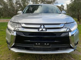 2017 Mitsubishi Outlander ZK MY18 LS 2WD Silver 6 Speed Constant Variable Wagon.
