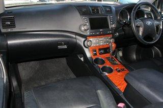 2009 Toyota Kluger GSU45R Grande AWD Silver 5 Speed Sports Automatic Wagon