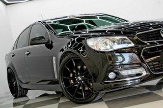 2014 Holden Commodore VF MY15 SS-V Black 6 Speed Manual Sedan.