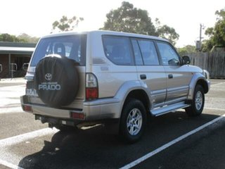 2002 Toyota Landcruiser Prado KZJ95R Turbo GXL Beige Automatic Wagon
