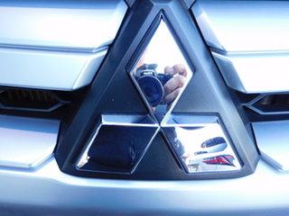 2018 Mitsubishi Triton MR MY19 GLS Double Cab Premium Grey 6 Speed Sports Automatic Utility