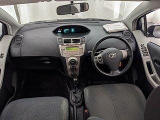 2008 Toyota Yaris NCP91R YRS Grey 4 Speed Automatic Hatchback