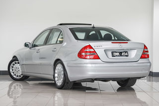 2002 Mercedes-Benz E-Class W211 E500 Elegance Silver 5 Speed Sports Automatic Sedan.