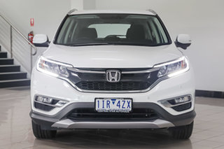 2016 Honda CR-V RM Series II MY17 Limited Edition White Orchid 5 Speed Automatic Wagon